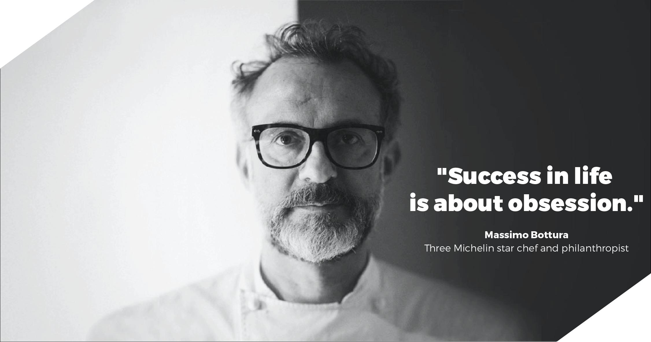 Massimo Bottura Xenia quote